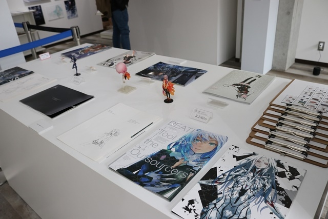 redjuice個展『印刷技術の進化と、デジタルイラストの可能性』をレポート!『ギルティクラウン』などの商業作品が一堂に集結!-28