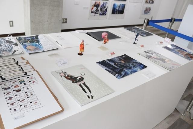 redjuice個展『印刷技術の進化と、デジタルイラストの可能性』をレポート!『ギルティクラウン』などの商業作品が一堂に集結!-29