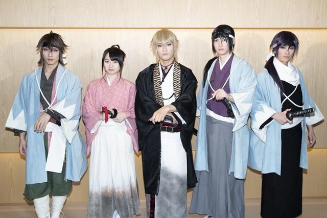 ▲左より:山﨑晶吾さん、本西彩希帆さん、中河内雅貴さん、和田雅成さん、赤澤燈さん