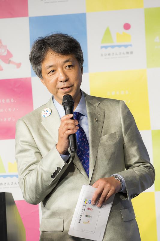 ▲澤田裕ニ総合プロデューサー