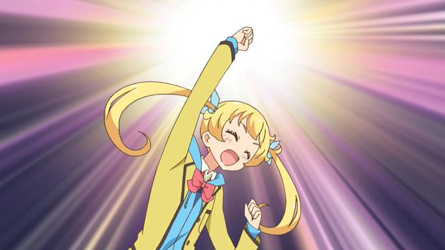 TVアニメ『キラッとプリ☆チャン』第54話先行場面カット・あらすじ到着!恥ずかしがり屋なクラスメイトの虹ノ咲さんとの距離が中々縮まらず……