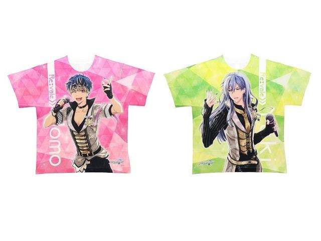ACOS(アコス)より『アイドリッシュセブン』のフルグラフィッ クTシャツ(全12種)が発売決定!-3