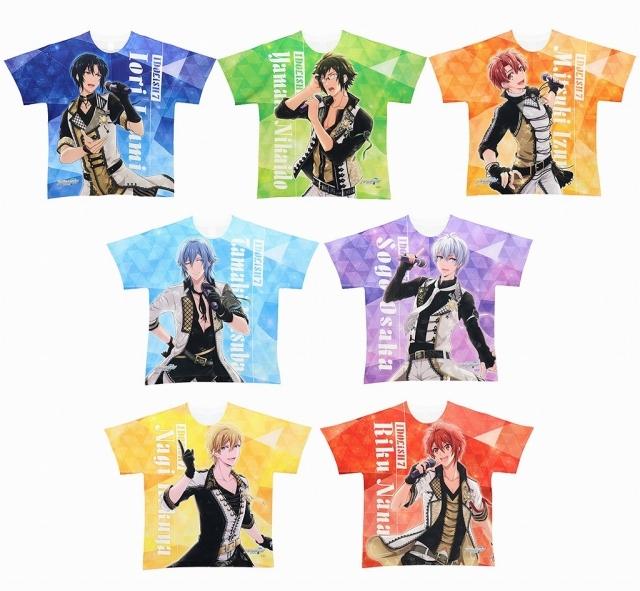 ACOS(アコス)より『アイドリッシュセブン』のフルグラフィッ クTシャツ(全12種)が発売決定!-1