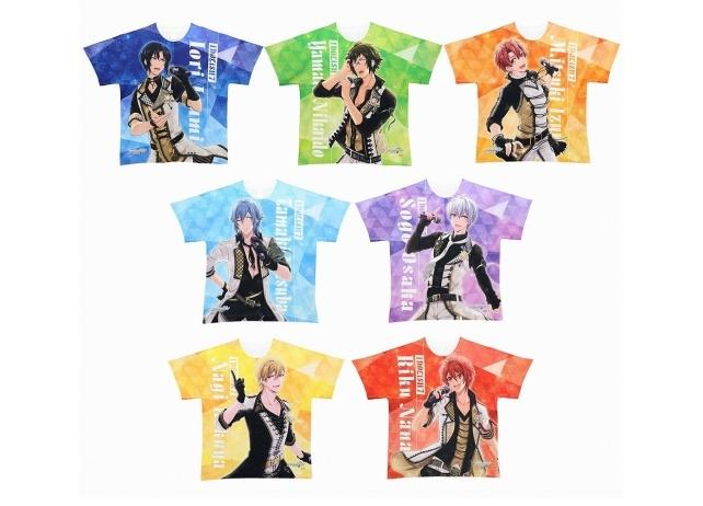 『アイナナ』のフルグラフィックTシャツがACOSにて発売決定!