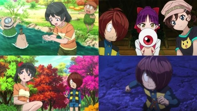 『ゲゲゲの鬼太郎』第52話「少女失踪!木の子の森」より先行カット到着! 美しい森に迷い込み、そこにいたのは……!?-1