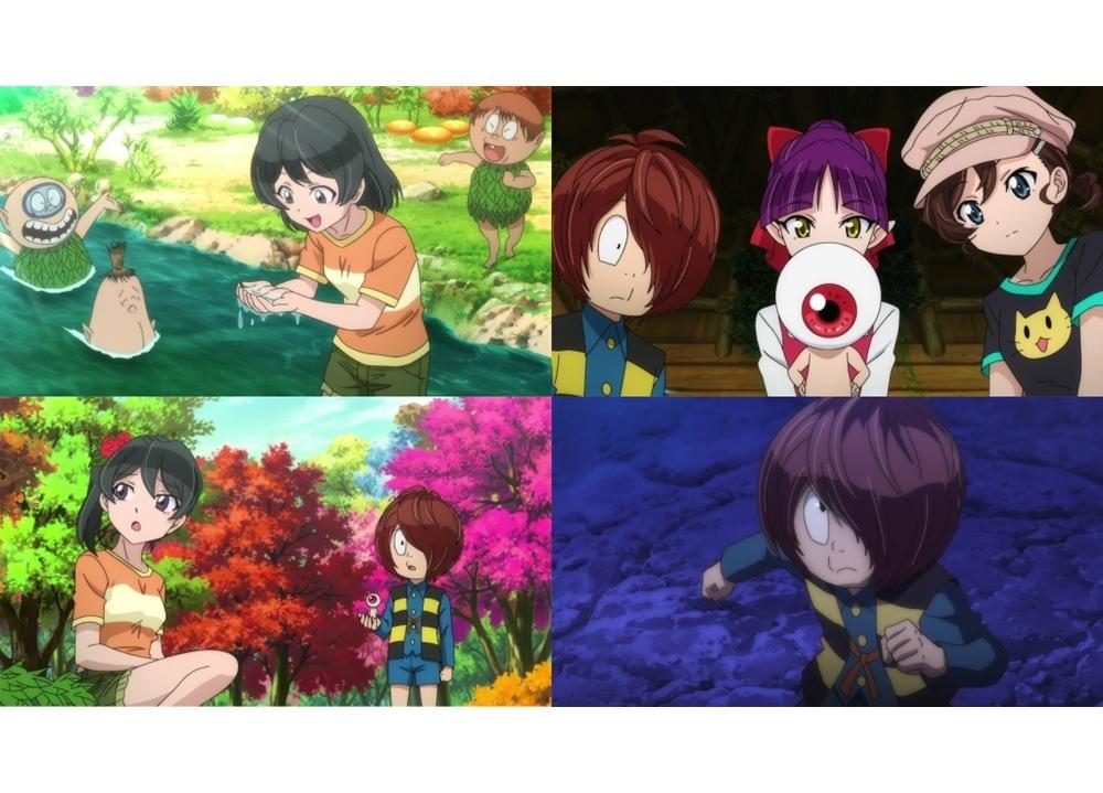 『ゲゲゲの鬼太郎』第52話「少女失踪!木の子の森」より先行カット到着!