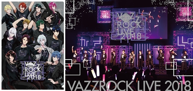 『VAZZROCK』CDシリーズ「play of colorシリーズ」楽曲先行配信が本日スタート!「VAZZROCK LIVE 2018」BD&DVDも発売中-1