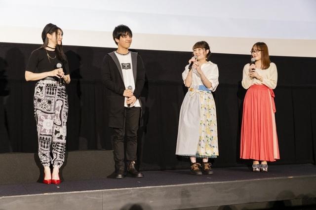 『劇場版 響け!ユーフォニアム ~誓いのフィナーレ~』公開記念舞台挨拶で、声優・黒沢ともよさんらが新1年生やキャラクターたちの成長した姿を語った-4