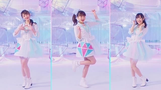 声優ユニット「Run Girls, Run!」が歌う『キラッとプリ☆チャン』主題歌「ダイヤモンドスマイル」よりMV&ジャケ写公開!メンバーのコメントも到着の画像-1