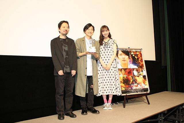 映画『クロノス・ジョウンターの伝説』舞台挨拶で、蜂須賀健太郎監督が主演・下野紘さんの魅力を熱弁