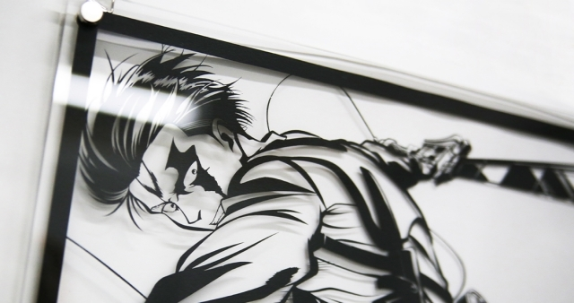 """『進撃の巨人』がアニメやゲームを""""切り絵""""で表現する「KIRITORIE-キリトリエ-」とコラボ!エレン、リヴァイたちの姿を職人が""""キリトリエ""""に!"""