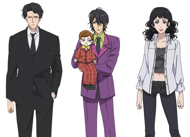 アニメ『7SEEDS』「龍宮」プロジェクトに関わるキャラクター&キャスト情報解禁