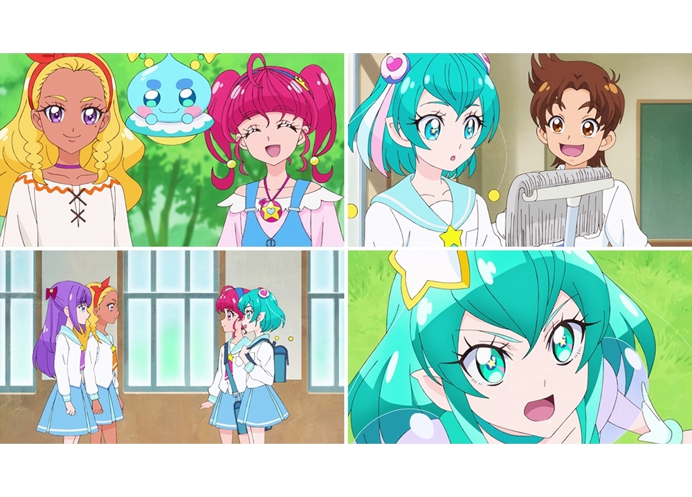 『スター☆トゥインクルプリキュア』第13話「ララのドキドキ初登校☆」より先行カット到着!