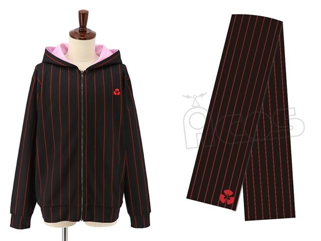 『Fate/stay night [Heaven's Feel]』間桐桜─マキリの杯─をイメージしたパーカーとマフラーがACOS(アコス)から発売決定!どちらも令呪の刺繍入り-1