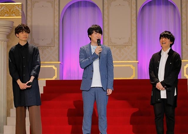 『夢王国と眠れる100人の王子様』声優15名登壇のイベントは、即興曲アリ・告白アリ! 鈴村健一さんは「王子が100人出るまでアニメを続けないと」とコメント-2