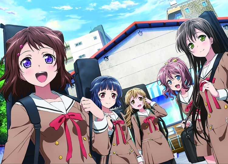 TVアニメ『BanG Dream!』第1期の再放送が決定