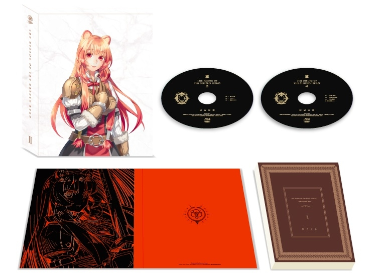 TVアニメ『盾の勇者の成り上がり』BD&DVD BOX第2巻ジャケット・展開図が公開