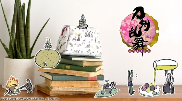 『刀剣乱舞-ONLINE-』とイラストレーター・鬼頭祈さんコラボグッズに第5弾が登場!の画像-1