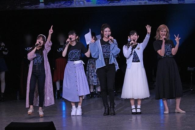 ▲RAISE A SUILEN(左から倉知さん、紡木さん、Raychellさん、小原さん、夏芽さん)