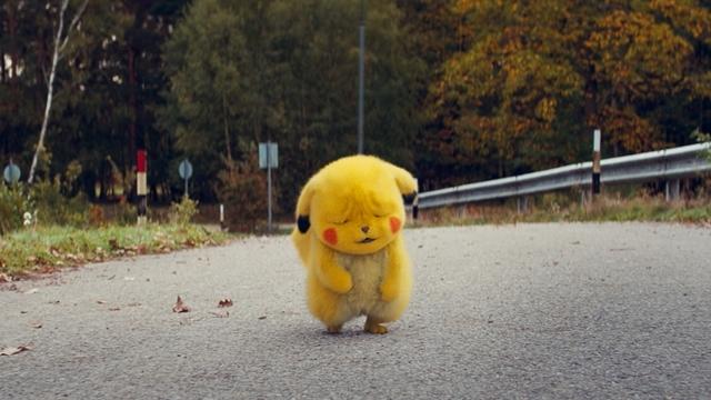 """映画『名探偵ピカチュウ』日本国内の週末映画動員ランキングで1位を獲得! 大ヒットを記念して""""しわしわ顔""""などの新規場面カット公開!"""