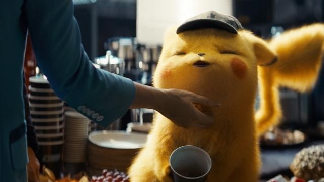 """映画『名探偵ピカチュウ』日本国内の週末映画動員ランキングで1位を獲得! 大ヒットを記念して""""しわしわ顔""""などの新規場面カット公開!の画像-7"""