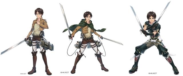 運命選択RPG『イドラ ファンタシースターサーガ』×『進撃の巨人』コラボは5月下旬より開催! ★5キャラクター「エレン」のイラスト公開