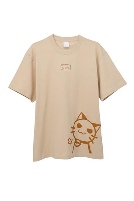 TVアニメ『衛宮さんちの今日のごはん』遠坂凛のエプロン柄をデザインしたTシャツが発売決定! 愛らしい猫のプリントが魅力的!-1