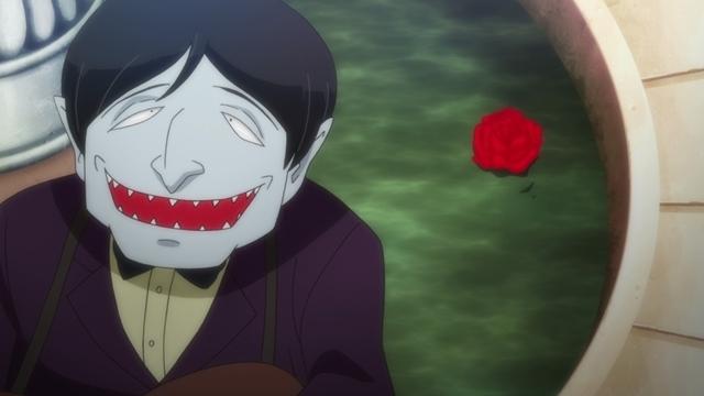 『ゲゲゲの鬼太郎』第56話「魅惑の旋律 吸血鬼エリート」より先行カット到着! 吸血鬼エリート(CV:中尾隆聖)から、手を組まないかと持ちかけられて……-8