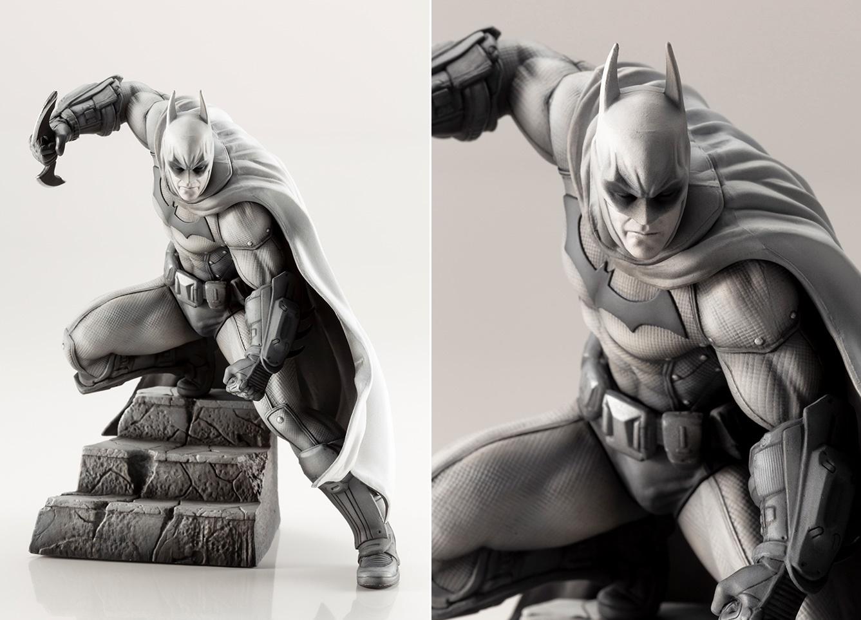 『バットマン:アーカム・シティ』バットマンの限定版フィギュアが登場