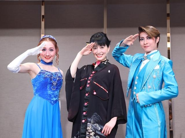 横山智佐さんと広井王子さんが京都・南座のOSK日本歌劇団×「サクラ大戦」コラボ公演製作発表に登壇!