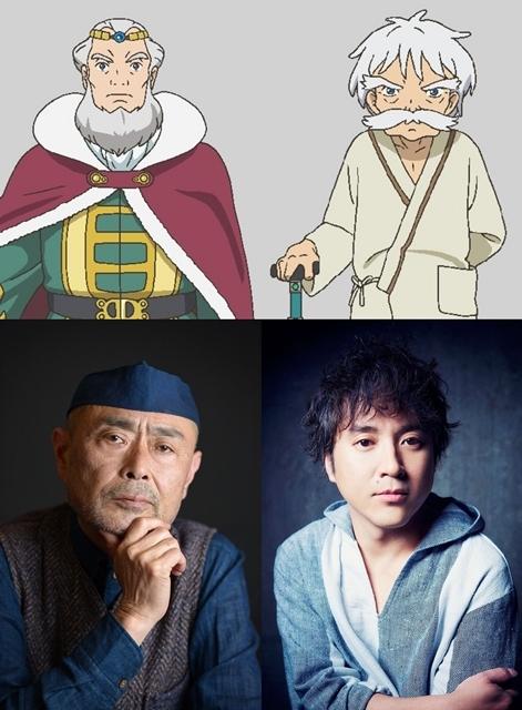 ▲下段左より伊武雅刀さん・ムロツヨシさん