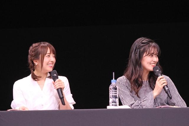 佐倉綾音さん、前島亜美さん、伊藤美来さんらが出演した「『バンドリ! ラジオ祭り!』ガルパラジオ×あみたいむ×@ハロハピ CiRCLE 放送局」レポート-3
