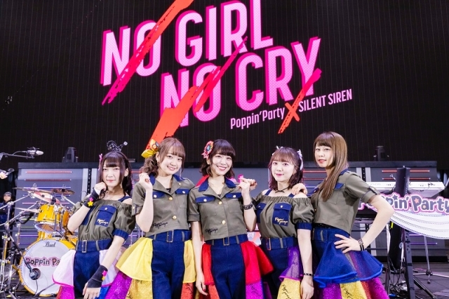 『BanG Dream!』Poppin'Party×SILENT SIREN 対バンライブ「NO GIRL NO CRY」<DAY1>をレポート!『バンドリ!』の可能性が広がっていくーー-5