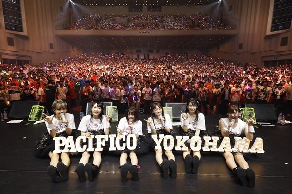 ▲「i☆Ris 5th Live Tour 2019 ~FEVER~」より集合写真