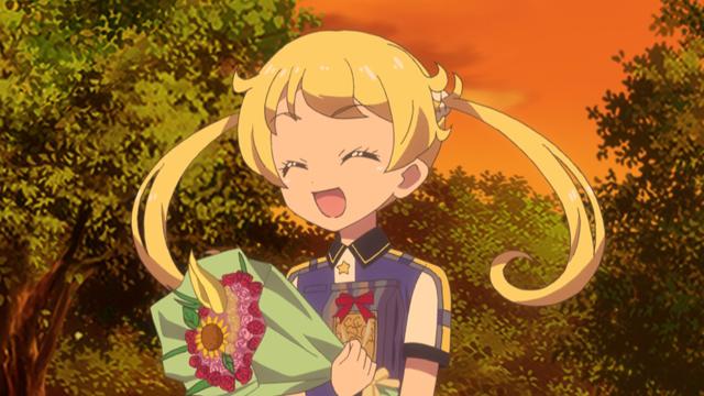 TVアニメ『キラッとプリ☆チャン』第61話先行場面カット・あらすじ到着!海外修行に行っているメルティックスターが帰国するという噂が流れはじめて……