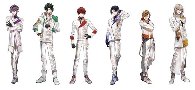 ▲左から灯堂理人(TOUDO LIHITO、22 歳)、影河凌駕(KAGEKAWA RYOGA、24 歳)、結城眞紘(YUKI MAHIRO、 18 歳)、如月薫(KISARAGI KAORU、18 歳)、清瀬陽汰(KIYOSE HARUTA、17 歳)、チセ(CHISE、20 歳)