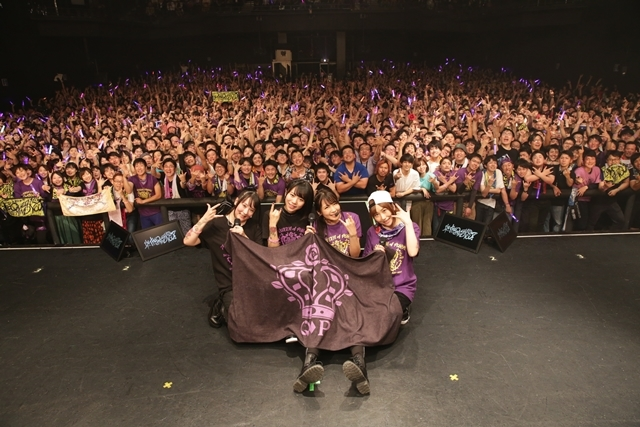 "『Tokyo 7th シスターズ(ナナシス)』「The QUEEN of PURPLE 1st Live ""I'M THE QUEEN, AND YOU?""」公式レポ―ト到着!"