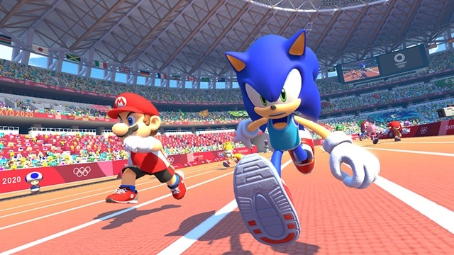 Nintendo Switch用ソフト『マリオ&ソニック AT 東京2020オリンピック』E3トレーラーが公開! アプリ『ソニック AT 東京2020オリンピック』のキービジュアルも到着-3
