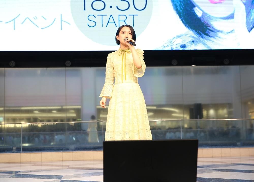 悠木碧フルアルバム『ボイスサンプル』発売記念イベより公式レポ到着