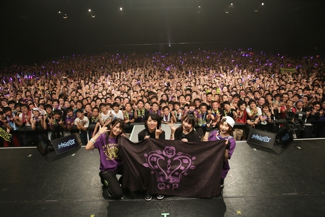 "『Tokyo 7th シスターズ(ナナシス)』豊洲PITで行われた「The QUEEN of PURPLE 1st Live ""I'M THE QUEEN, AND YOU?""」DAY2公式レポート到着!-1"
