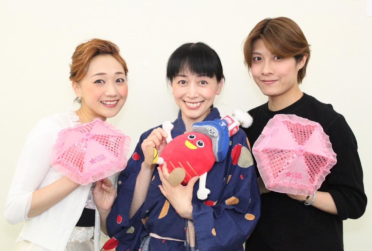 横山智佐さんとOSKスターが「サクラ大戦」コラボ公演を語る!
