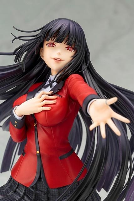 『賭ケグルイ××』より、「早乙女芽亜里」がスケールフィギュア化! 同シリーズの「蛇喰夢子」も再販決定