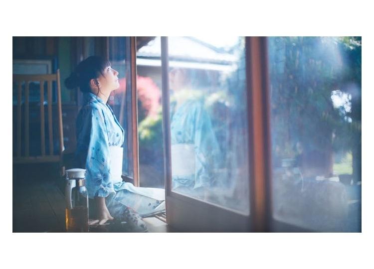 堀江由衣アルバム「文学少女の歌集」より「朝顔」のMVが解禁