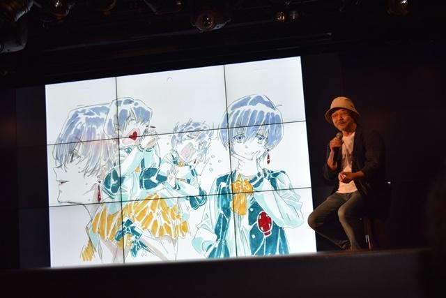 押井守監督による新作アニメーション『ぶらどらぶ』制作発表会をレポート! 公式アンバサダーユニットは声優・高槻かなこさん率いる「BlooDye」に決定!-11