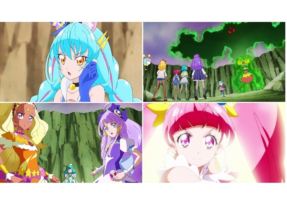 『スタプリ』第21話「虹色のスペクトル☆キュアコスモの力!」より 先行カット到着!
