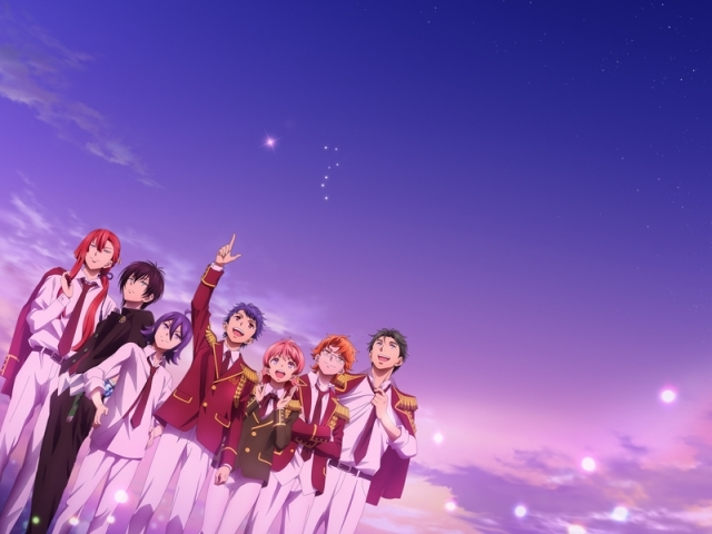 TVアニメ『KING OF PRISM –Shiny Seven Stars-』(キンプリ)のサウンドトラックが発売決定! 幻のプリズムシャワー上映も4都市にて復活上映!