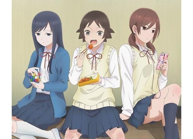 夏アニメ『女子高生の無駄づかい』Blu-ray&DVD情報公開