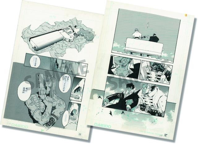 『トライガン』『血界戦線』などの内藤泰弘先生デビュー25周年を記念した初の大規模な展覧会「内藤泰弘の世界展」オリジナルグッズの通販がスタート