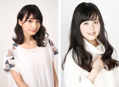 ▲左から高野麻里佳さん、日岡なつみさん