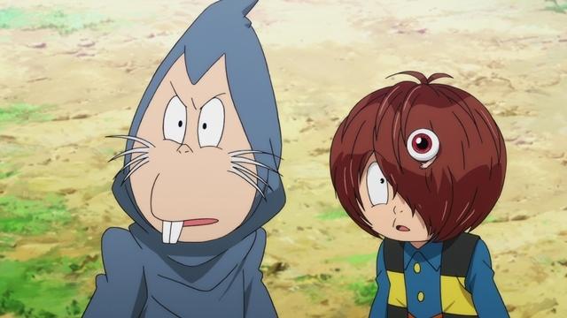 『ゲゲゲの鬼太郎』第63話「恋の七夕妖怪花」より先行カット到着! 笹の花が咲き乱れる奇妙な笹林で、ぬりかべとはぐれて……-3